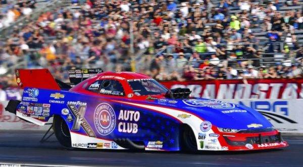 NHRA to Restart This Weekend without Four-Car John Force Racing Team