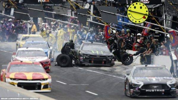 Penske Crew Member Injured in Brickyard 400 Pit Road Crash